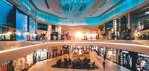 The Shopping Center Stands Tall Even just in Today's Economy