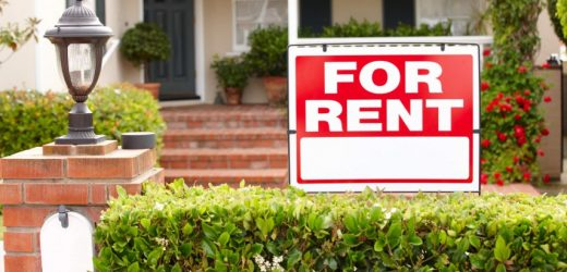 Rent Your House in a Bad Real Estate Market